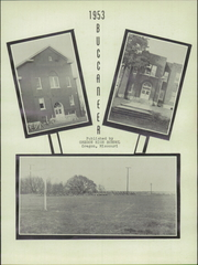 Page 5, 1953 Edition, Oregon High School - Buccaneer Yearbook (Oregon, MO) online yearbook collection