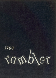Page 1, 1960 Edition, Ladue Horton Watkins High School - Rambler Yearbook (St Louis, MO) online yearbook collection