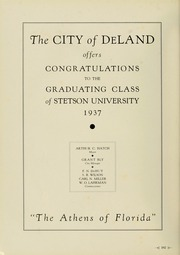 Page 108, 1937 Edition, Stetson University - Hatter Yearbook (DeLand, FL) online yearbook collection