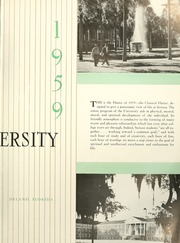 Page 7, 1959 Edition, Stetson University - Hatter Yearbook (DeLand, FL) online yearbook collection
