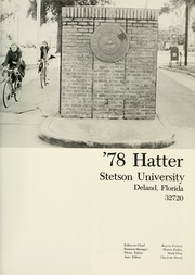 Page 5, 1978 Edition, Stetson University - Hatter Yearbook (DeLand, FL) online yearbook collection
