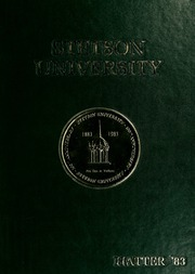 1983 Edition, Stetson University - Hatter Yearbook (DeLand, FL)