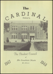 Page 7, 1948 Edition, Metz High School - Cardinal Yearbook (Metz, MO) online yearbook collection