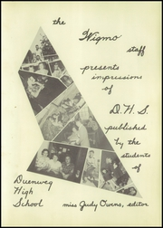 Page 7, 1950 Edition, Duenweg High School - Wigmo Yearbook (Duenweg, MO) online yearbook collection