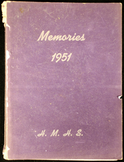 1951 Edition, Horace Mann High School - Memories Yearbook (Maryville, MO)