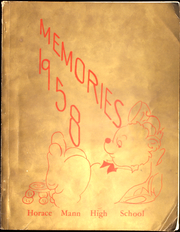 1958 Edition, Horace Mann High School - Memories Yearbook (Maryville, MO)
