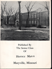 Page 7, 1958 Edition, Horace Mann High School - Memories Yearbook (Maryville, MO) online yearbook collection
