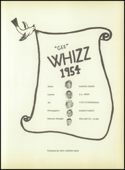 Page 7, 1954 Edition, New London High School - Whizz Yearbook (New London, MO) online yearbook collection