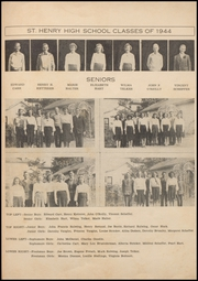 Page 17, 1944 Edition, St Henry High School - Trojan Yearbook (Charleston, MO) online yearbook collection