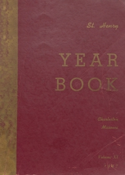 1947 Edition, St Henry High School - Trojan Yearbook (Charleston, MO)