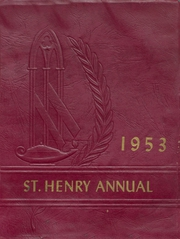 1953 Edition, St Henry High School - Trojan Yearbook (Charleston, MO)
