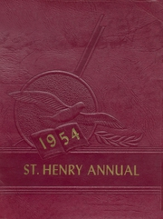 1954 Edition, St Henry High School - Trojan Yearbook (Charleston, MO)