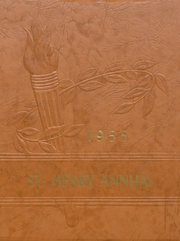 1955 Edition, St Henry High School - Trojan Yearbook (Charleston, MO)