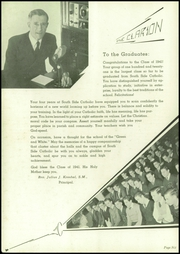 Page 8, 1941 Edition, Southside Catholic High School - Clarion Yearbook (St Louis, MO) online yearbook collection