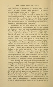 Page 12, 1891 Edition, Mary Baldwin College - Bluestocking Yearbook (Staunton, VA) online yearbook collection