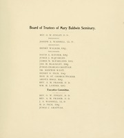 Page 15, 1900 Edition, Mary Baldwin College - Bluestocking Yearbook (Staunton, VA) online yearbook collection