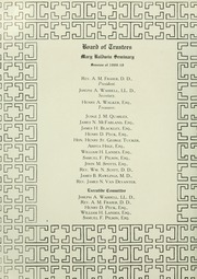 Page 10, 1910 Edition, Mary Baldwin College - Bluestocking Yearbook (Staunton, VA) online yearbook collection