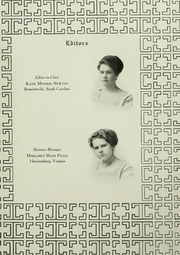 Page 15, 1910 Edition, Mary Baldwin College - Bluestocking Yearbook (Staunton, VA) online yearbook collection