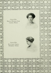Page 17, 1910 Edition, Mary Baldwin College - Bluestocking Yearbook (Staunton, VA) online yearbook collection