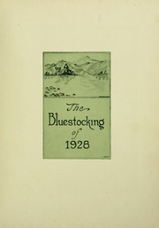 Page 7, 1928 Edition, Mary Baldwin College - Bluestocking Yearbook (Staunton, VA) online yearbook collection
