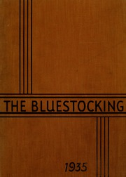 Mary Baldwin College - Bluestocking Yearbook (Staunton, VA) online yearbook collection, 1935 Edition, Page 1