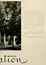 Page 11, 1943 Edition, Mary Baldwin College - Bluestocking Yearbook (Staunton, VA) online yearbook collection