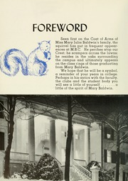 Page 8, 1950 Edition, Mary Baldwin College - Bluestocking Yearbook (Staunton, VA) online yearbook collection