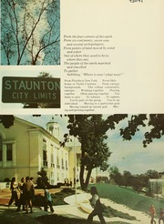 Page 5, 1972 Edition, Mary Baldwin College - Bluestocking Yearbook (Staunton, VA) online yearbook collection
