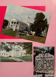 Page 11, 1986 Edition, Mary Baldwin College - Bluestocking Yearbook (Staunton, VA) online yearbook collection