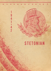 Page 1, 1942 Edition, Stet High School - Stetonian Yearbook (Stet, MO) online yearbook collection