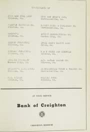 Page 97, 1956 Edition, Creighton High School - Tiger Yearbook (Creighton, MO) online yearbook collection