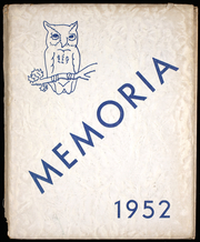 Page 1, 1952 Edition, Augusta High School - Memoria Yearbook (Augusta, MO) online yearbook collection