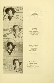 Page 15, 1923 Edition, Southern Adventist University - Triangle Yearbook (Collegedale, TN) online yearbook collection