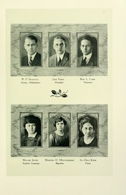 Page 15, 1925 Edition, Southern Adventist University - Triangle Yearbook (Collegedale, TN) online yearbook collection