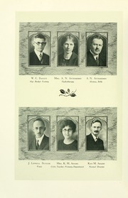 Page 16, 1925 Edition, Southern Adventist University - Triangle Yearbook (Collegedale, TN) online yearbook collection