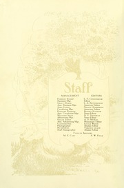 Page 12, 1927 Edition, Southern Adventist University - Triangle Yearbook (Collegedale, TN) online yearbook collection