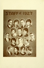 Page 13, 1927 Edition, Southern Adventist University - Triangle Yearbook (Collegedale, TN) online yearbook collection