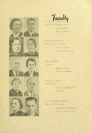 Page 15, 1938 Edition, Southern Adventist University - Triangle Yearbook (Collegedale, TN) online yearbook collection