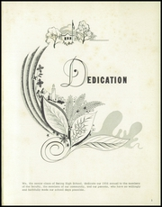 Page 5, 1956 Edition, Baring High School - Blue Devil Yearbook (Baring, MO) online yearbook collection