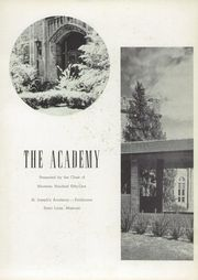 Page 7, 1951 Edition, St Josephs Academy - Academy Yearbook (St Louis, MO) online yearbook collection