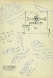Page 3, 1952 Edition, St Josephs Academy - Academy Yearbook (St Louis, MO) online yearbook collection