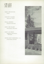 Page 6, 1952 Edition, St Josephs Academy - Academy Yearbook (St Louis, MO) online yearbook collection
