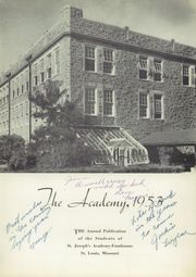 Page 5, 1953 Edition, St Josephs Academy - Academy Yearbook (St Louis, MO) online yearbook collection