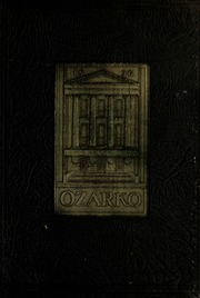 1930 Edition, Missouri State University - Ozarko Yearbook (Springfield, MO)
