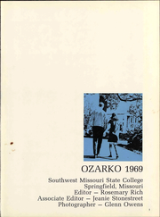 Page 7, 1969 Edition, Missouri State University - Ozarko Yearbook (Springfield, MO) online yearbook collection