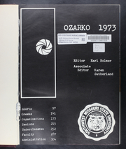 Page 5, 1973 Edition, Missouri State University - Ozarko Yearbook (Springfield, MO) online yearbook collection