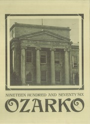 1976 Edition, Missouri State University - Ozarko Yearbook (Springfield, MO)