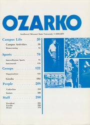 Page 5, 1977 Edition, Missouri State University - Ozarko Yearbook (Springfield, MO) online yearbook collection
