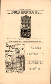 Page 3, 1888 Edition, Yale University - Banner and Pot Pourri Yearbook (New Haven, CT) online yearbook collection
