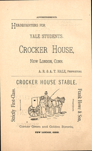 Page 4, 1888 Edition, Yale University - Banner and Pot Pourri Yearbook (New Haven, CT) online yearbook collection